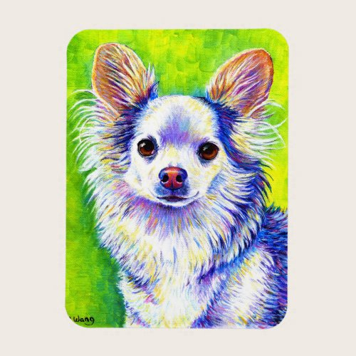 Colorful Chihuahua Dog Flexible Magnet