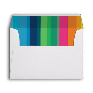 Colorful Children's Birthday Party Envelope