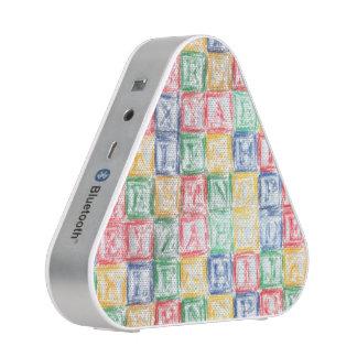 Colorful  Children's Blocks Speaker