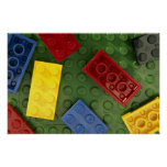 Colorful Children's toys Poster