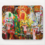 Colorful Chinese Dragons mousepad