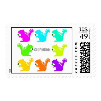 colorful chipmunks