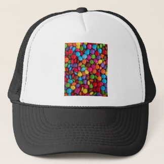 Colorful Chocolate Buttons Trucker Hat