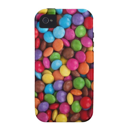 Colorful Chocolate Candy Case-Mate iPhone 4 Case