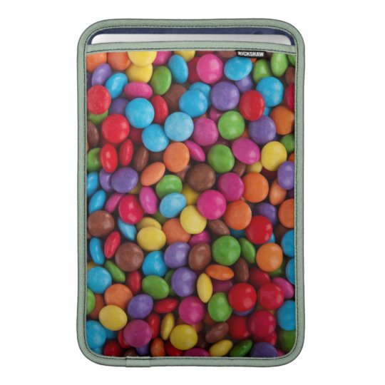 Colorful Chocolate Candy MacBook Sleeve