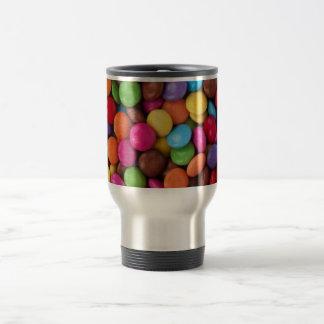 Colorful Chocolate Candy Travel Mug