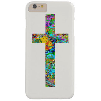 Colorful Christian Cross 1 Barely There iPhone 6 Plus Case