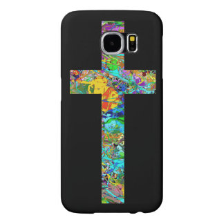 Colorful Christian Cross 1 Samsung Galaxy S6 Cases