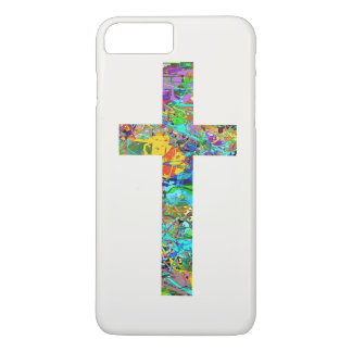 Colorful Christian Cross 1 iPhone 7 Plus Case