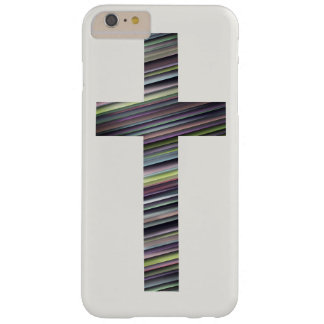 Colorful Christian Cross 2 Barely There iPhone 6 Plus Case