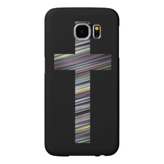Colorful Christian Cross 2 Samsung Galaxy S6 Cases