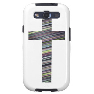 Colorful Christian Cross 2 Samsung Galaxy SIII Cover