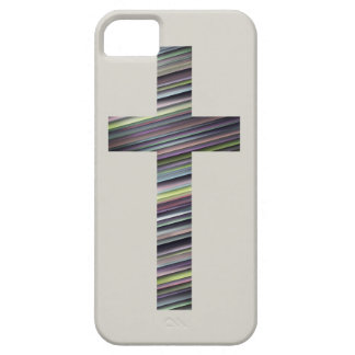 Colorful Christian Cross 2 iPhone SE/5/5s Case