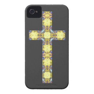 Colorful Christian Cross 3 iPhone 4 Covers