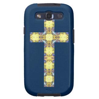 Colorful Christian Cross 3 Samsung Galaxy SIII Covers
