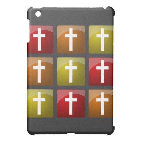 Colorful Christian Crosses iPad Mini Case
