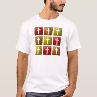 Colorful Christian Crosses T-Shirt