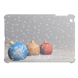 Colorful Christmas balls iPad Mini Cover
