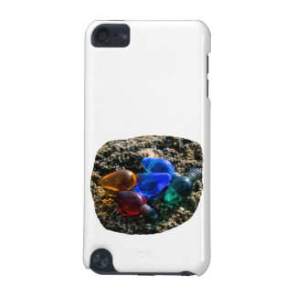 Colorful Christmas Bulbs in Beach Sand Photograph iPod Touch 5G Covers