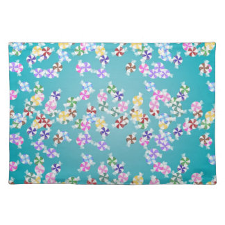 Colorful Christmas Candy Placemat