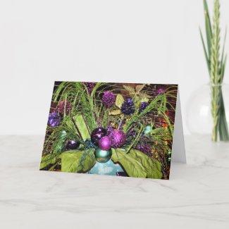 Colorful Christmas Card card