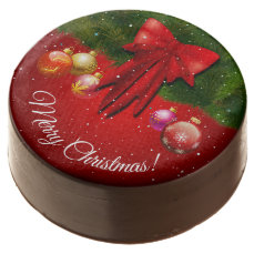 Colorful Christmas Decorations Chocolate Covered Oreo