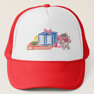 Colorful Christmas Gifts Trucker Hat