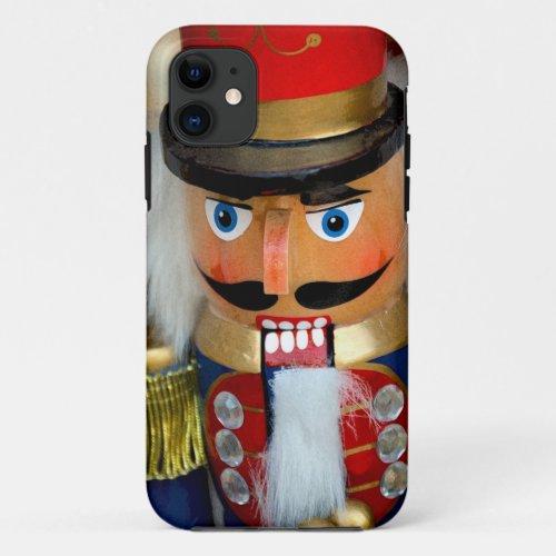 Colorful christmas nutcracker Phone Case