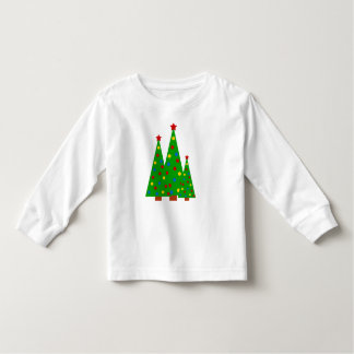 Colorful Christmas Tree Merry Christmas Kid Toddler T-shirt