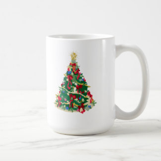 Colorful Christmas Tree: Vector Art: Coffee Mug