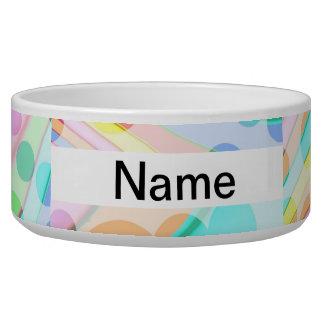 Colorful Circle Abstract Bowl