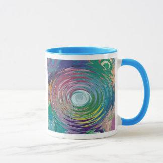 Colorful circle Abstract Mug