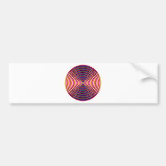 Colorful Circle Bumper Sticker