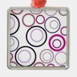 Colorful Circle Design Christmas Ornament