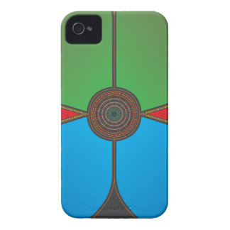Colorful Circle iPhone 4 Case