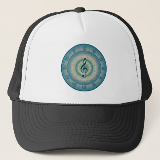 Colorful Circle of Fifths Trucker Hat