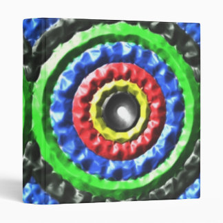 Colorful Circle pattern Binders