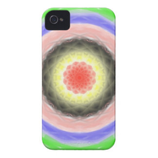 Colorful circle pattern Case-Mate iPhone 4 case