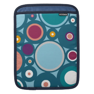 Colorful Circle Pattern iPad Sleeves