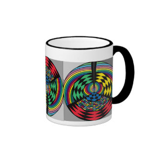 Colorful Circle Pattern Mug