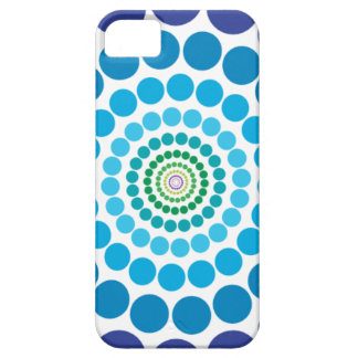 Colorful circle patterns iPhone 5 covers