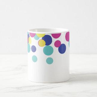 Colorful Circle Polka Dot Coffee Mug