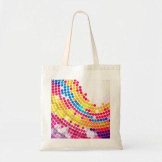 Colorful Circle Tote Bag