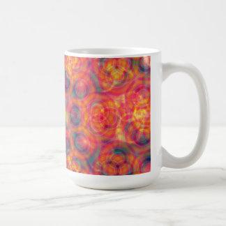 Colorful Circles: Abstract Art: Coffee Mug