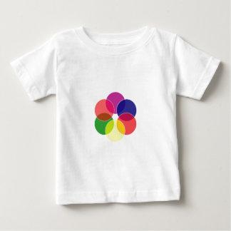 Colorful circles- color scheme baby T-Shirt