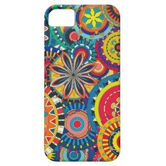 Colorful circles composition iPhone SE/5/5s case