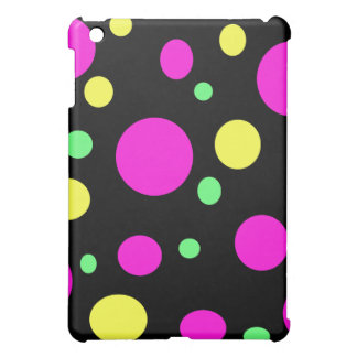 Colorful circles cover for the iPad mini