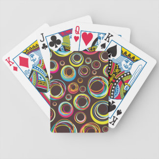Colorful circles Deck of Cards