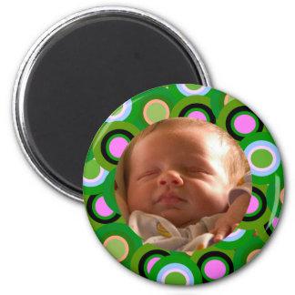 Colorful Circles Fridge Magnets