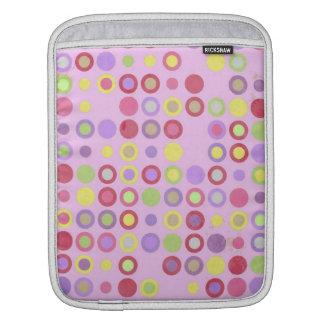 Colorful Circles iPad Sleeve
